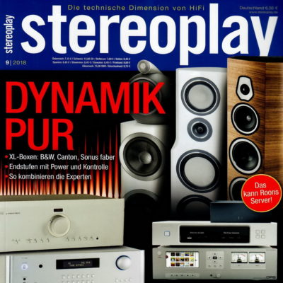 Cover Stereoplay Testbericht Model 2