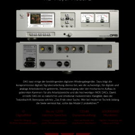 Digital Audio Systems Werbeposter