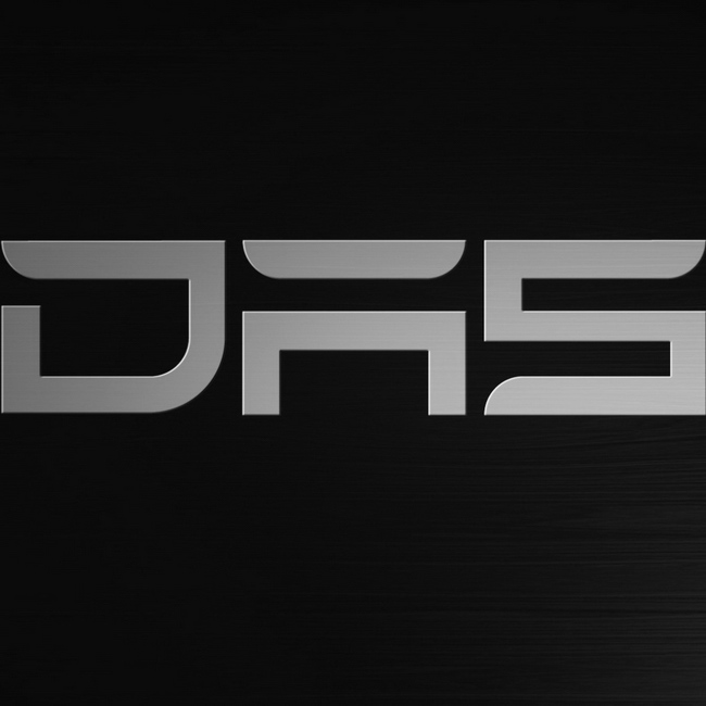DAS Logo (grey on black)