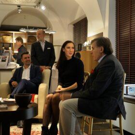 Caroline Kreutzberger presentation with Dr. Ludwig Flich