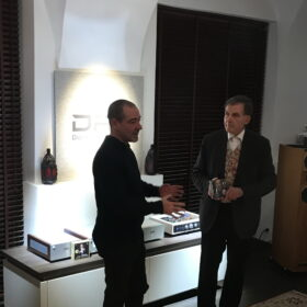 Claudio Vandelli presentation with Dr. Ludwig Flich